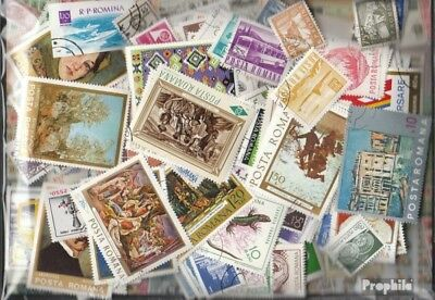 Romania 4.000 different stamps