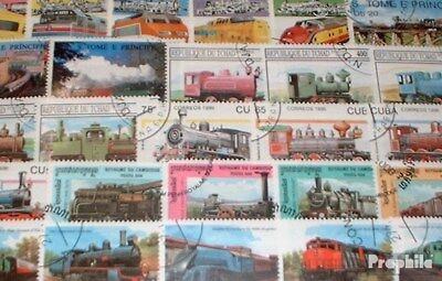 Motives 1.000 different Railway stamps
