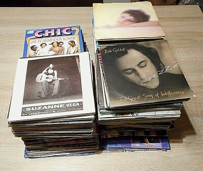 300++Singles internationale Titel 70er/80er Jahre Pop, Rock, Disco, Wave, It/Fr