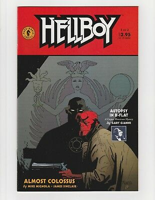 Hellboy Almost Colossus #1-2 Near Mint Complete Set 1997