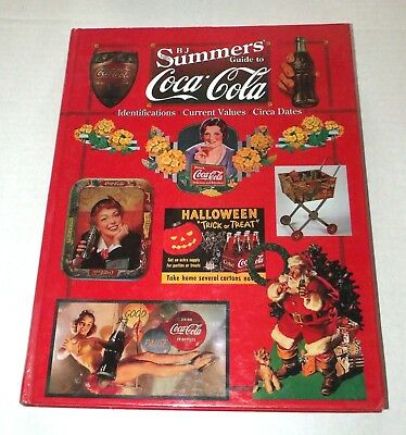 1997 B.J. Summers Guide to Coca Cola Hardback Reference Book