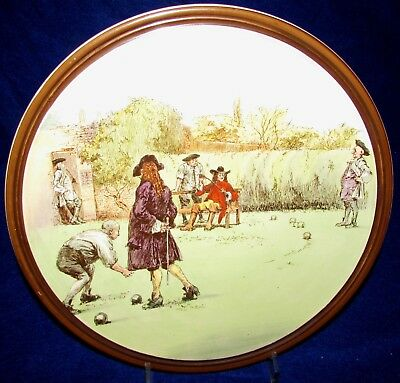 Antique Royal Doulton Sir Roger de Coverley Charger Plate  Buy It Now