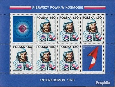 Poland block70 (complete issue) unmounted mint / never hinged 1978 first Polish