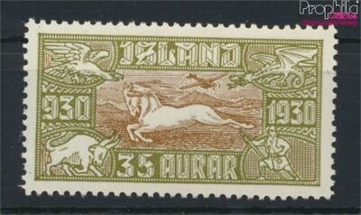 Iceland 144 unmounted mint / never hinged 1930 millennium (9077385