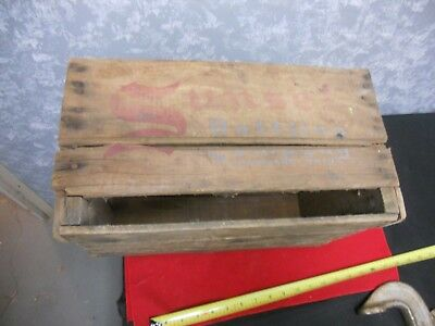 Vintage Wooden Crate Sunset Bottling Co. Cleveland Ohio 16 in L -10 1/4 W & 9 H