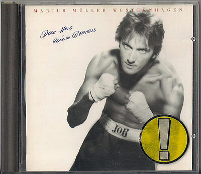 Das Herz Eines Boxers by Westernhagen (CD, May-1998, Warner Elektra Atlantic...