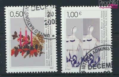 kosovo (UN-Administration) 16-17 used 2003 christmas and Year (9077281