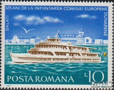Romania 3775 (complete issue) unmounted mint / never hinged 1981 danube commissi