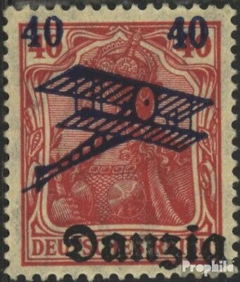 Gdansk 50 Favor devaluation fine used / cancelled 1920 Airmail