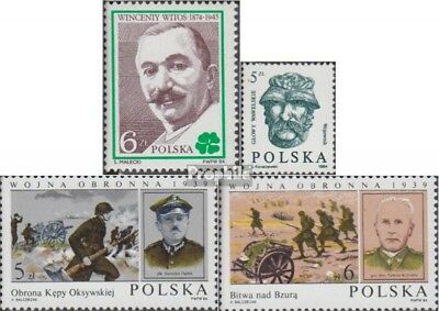 Poland 2905,2925,2934-2935 (complete issue) unmounted mint / never hinged 1984 F