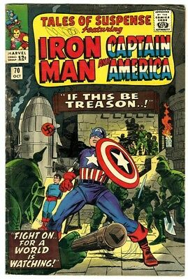 Tales of Suspense #70 (1965) G/VG Marvel Comics
