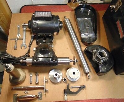 NEW Dumore Tool Post Grinder 57-011 Must See Extras