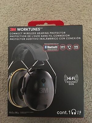 New In Box 3M Worktunes #90543 Free Shipping