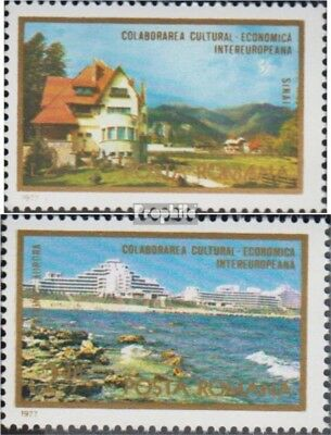 Romania 3431,3432 (complete issue) unmounted mint / never hinged 1977 INTEREUROP
