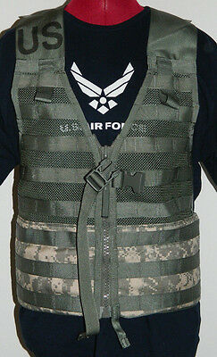 NEW US Military Tactical Fighting Load Carrier Vest MOLLE II 2 ACU Digital Camo