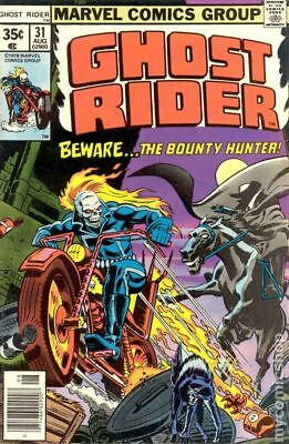 Ghost Rider (1st Series) #31 1978 VG+ 4.5 Stock Image Low Grade