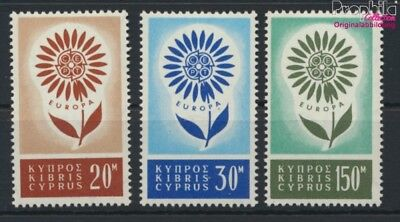 Cyprus 240-242 (complete issue) unmounted mint / never hinged 1964 Eu (9119933