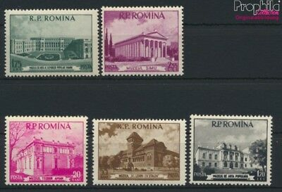 Romania 1519-1523 (complete issue) unmounted mint / never hinged 1955 (9119869