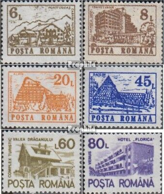 Romania 4710X-4715X (complete issue) unmounted mint / never hinged 1991 clear br