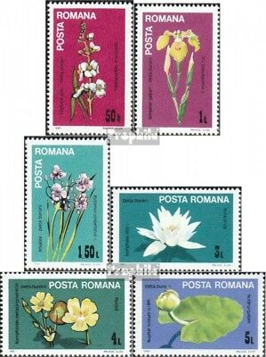 Romania 4035-4040 (complete issue) unmounted mint / never hinged 1984 Flowers of