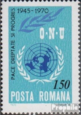 Romania 2887 (complete issue) unmounted mint / never hinged 1970 25Jahre UN