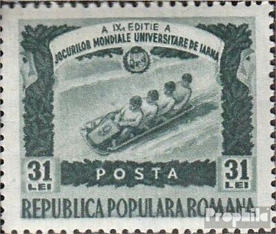Romania 1251 unmounted mint / never hinged 1951 university-Winter Games