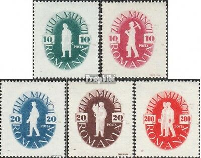 Romania 987-991 (complete issue) unmounted mint / never hinged 1946 Day the Work