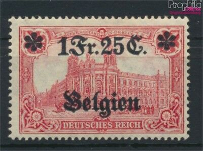 German. country post in Belgium 8 unmounted mint / never hinged 1914 G (9120188