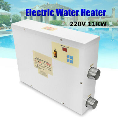 220V 11KW Digital Electric Water Heater Thermostat Swimming Pool &SPA Hot Tub AU
