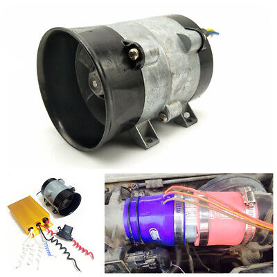 12V Car Electric Turbine Power Turbo Charger Bold Line With Automatic Controller