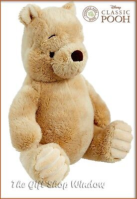 Classic Winnie The Pooh Plush Bear Toy Hundred Acre Wood / Disney Superb Gift 0+