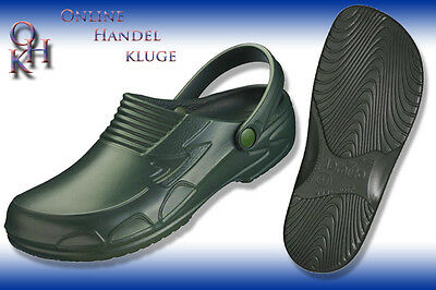 30043# Garden Clogs Garden Color Green gr.37 Bis 46