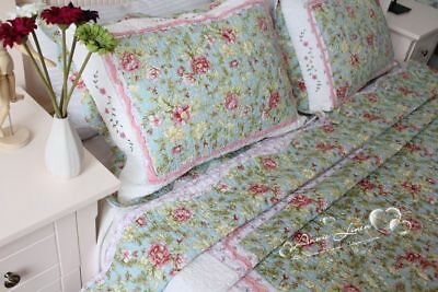 LAST Annie King/Double Bed Throw/Blanket+Pillowcase with Cath Kidston Fabric