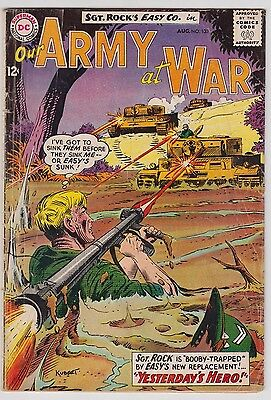 Our Army At War #133 Dc Comics 1963 Vg- Condition