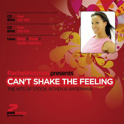 Can't Shake The Feeling Aerobics Fitness Continuous Megamix Music CDs Twin Album