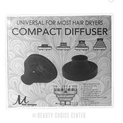 Universal Compact Diffuser For Most Hair Dryers by M Hair Designs