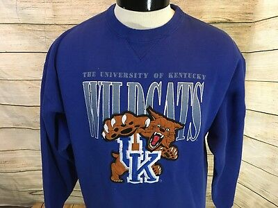 Vintage University Of Kentucky Wildcats Uk Chalk Line Jacket Mens