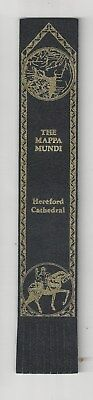 Hereford Cathedral. Black Leather English  Bookmark.
