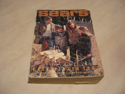 Vintage 1983 Sears Catalog FALL/WINTER Midwest East Edition Clothing Decor