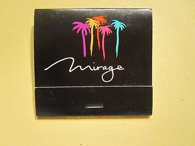 Mirage Hotel & Casino Las Vegas Vintage Match Book