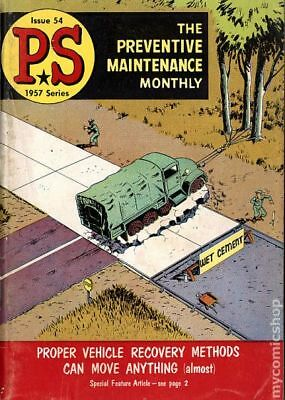 PS The Preventive Maintenance Monthly #54 1957 FN 6.0