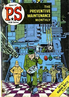 PS The Preventive Maintenance Monthly #67 1958 FN 6.0