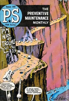 PS The Preventive Maintenance Monthly #140 1964 FN 6.0