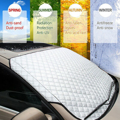 Universal Car SUV Front Windshield Snow Cover Frost Sun Shade Protector Shield