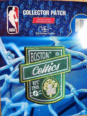 Official Licensed NBA Boston Celtics Established 1946 Fan Iron or Sew On Patch