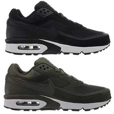 Nike Air Max BW men's fashion sneakers running shoes black or green casuals NEW