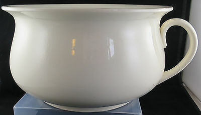 George Jones and Sons Antique White Chamberpot (Can be used as a Planter)