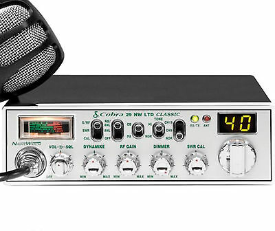 29NW COBRA CB Radio 40-Ch. WITH NIGHTWATCH