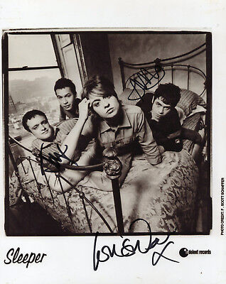 SLEEPER - Multi Signed 10x8 Photograph - MUSIC - GROUP