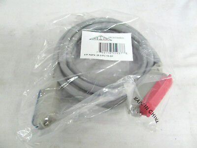 New Allen Tel Products 10ft Network Extension Cable 25-3-PC-10-GY